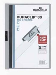 Durable klemmap Duraclip Original 30 grijs