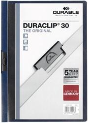 Durable klemmap Duraclip Original 30 nachtblauw