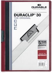 Durable klemmap Duraclip Original 30 bordeaux