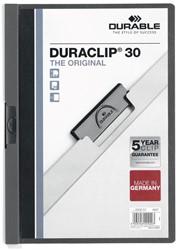 Durable klemmap Duraclip Original 30 antraciet