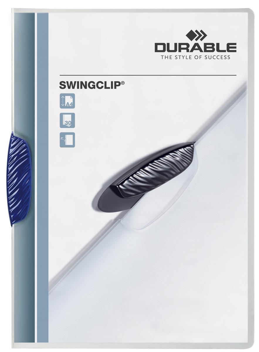 Durable klemmap Swingclip donkerblauw