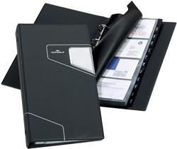 Durable Visitekaartenmap Visifix Pro ft 145 x 255 mm, voor 200 visitekaarten