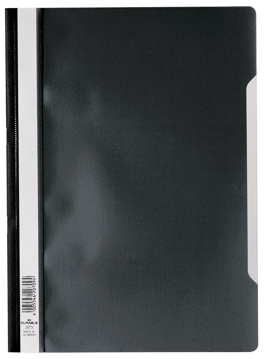 Durable snelhechtmap ft A4 zwart