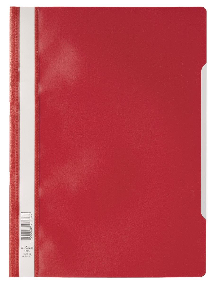 Durable snelhechtmap ft A4 rood