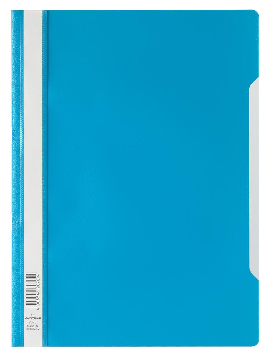Durable snelhechtmap ft A4 blauw