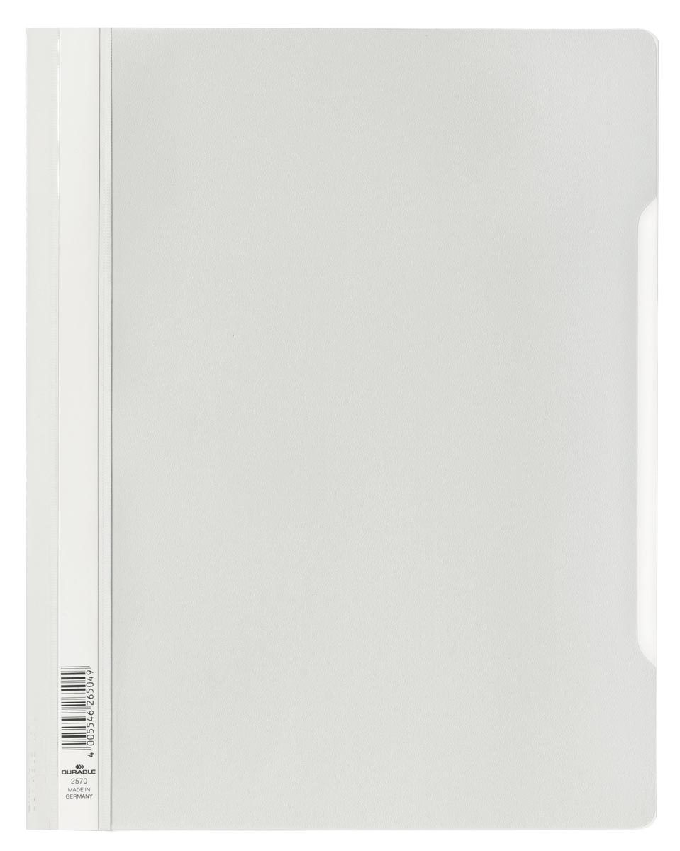Durable snelhechtmap voor showtassen wit