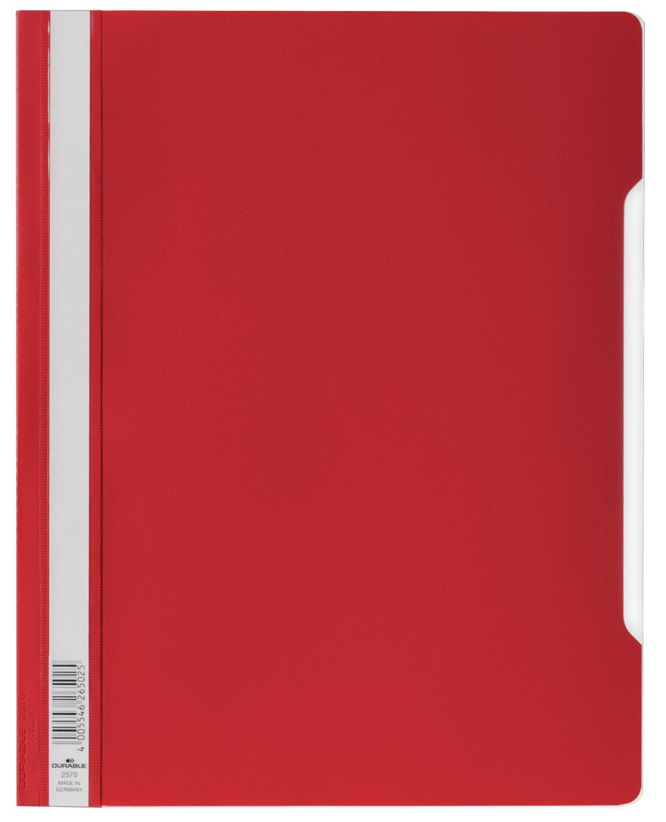 Durable snelhechtmap voor showtassen rood