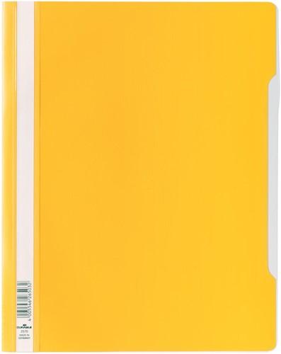 Durable snelhechtmap voor showtassen geel
