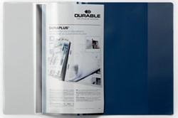 Durable personaliseerbare snelhechtmap Duraplus blauw
