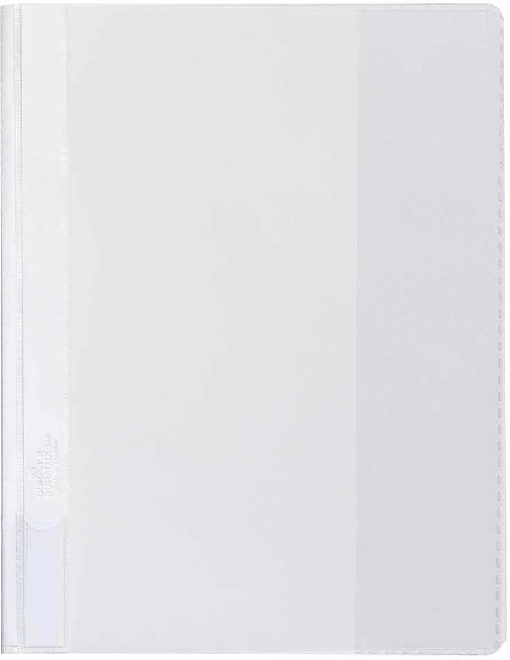 Durable snelhechtmap voor ft A4 extra breed, wit