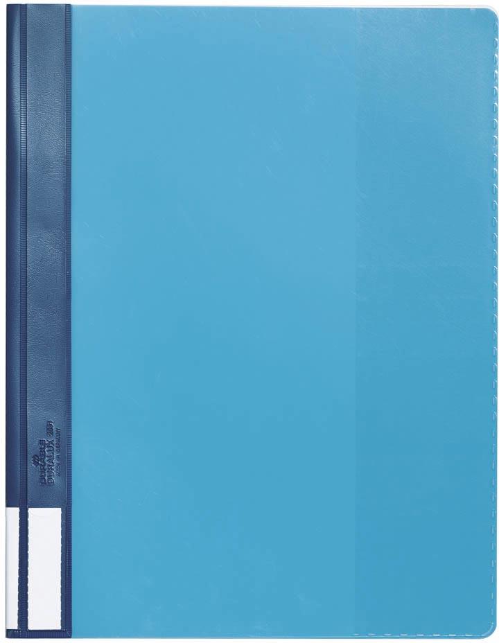 Durable snelhechtmap voor ft A4 extra breed, blauw