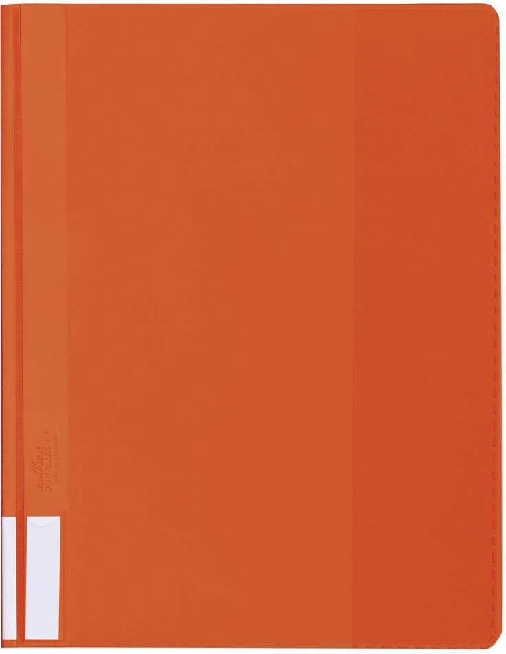 Durable snelhechtmap voor ft A4 extra breed, oranje