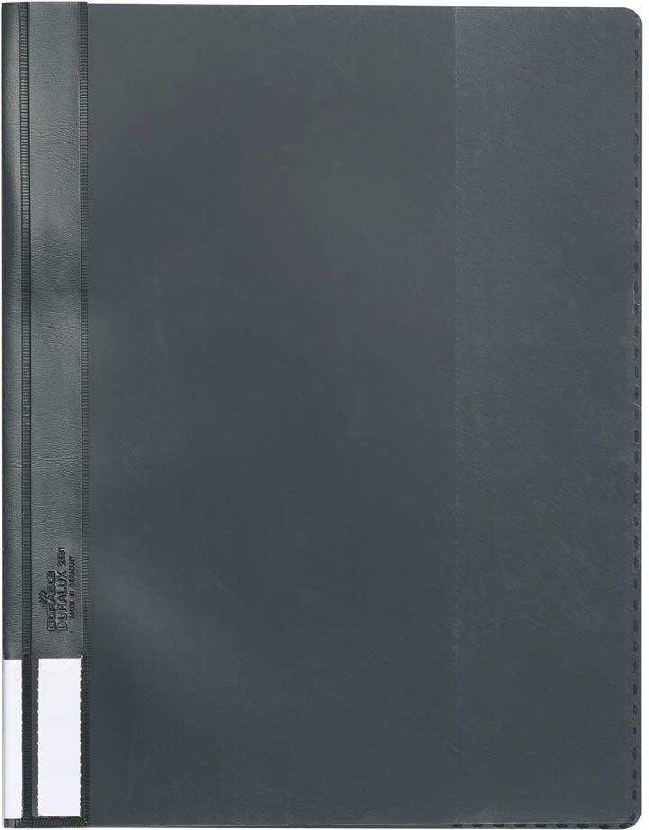 Durable snelhechtmap voor ft A4 extra breed, zwart