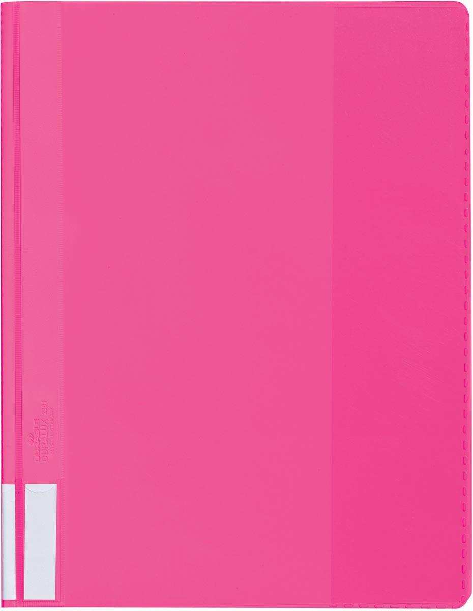 Durable snelhechtmap voor ft A4 extra breed, roze