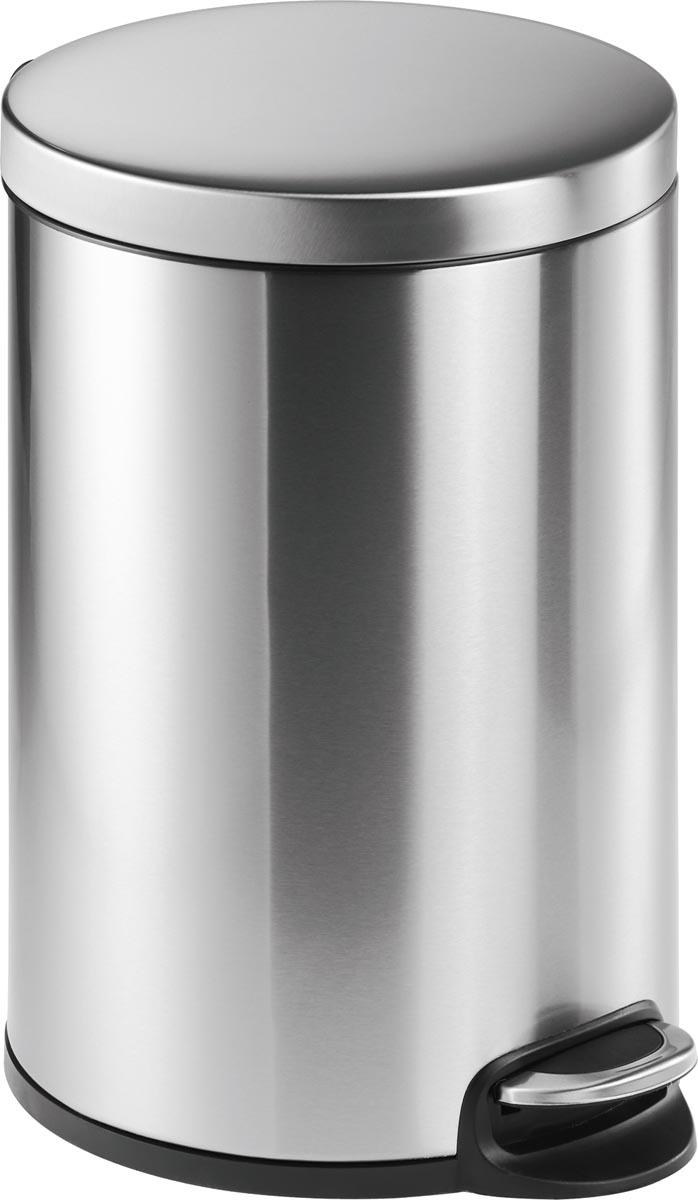 Durable pedaalemmer, roestvrij staal, inhoud 20 L