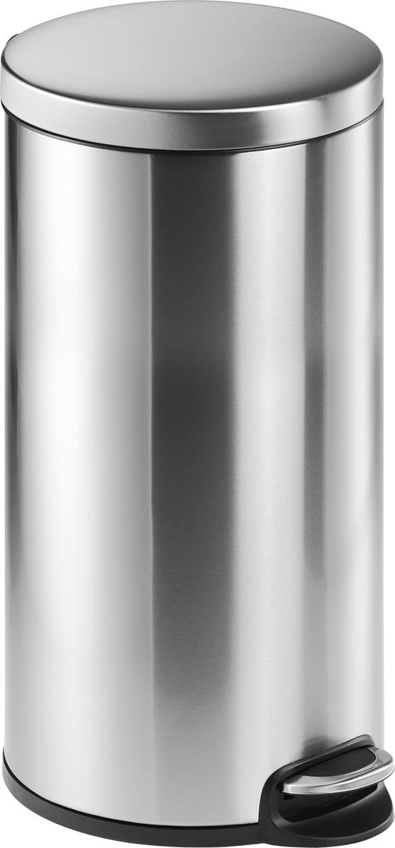 Durable pedaalemmer, roestvrij staal, inhoud 30 L