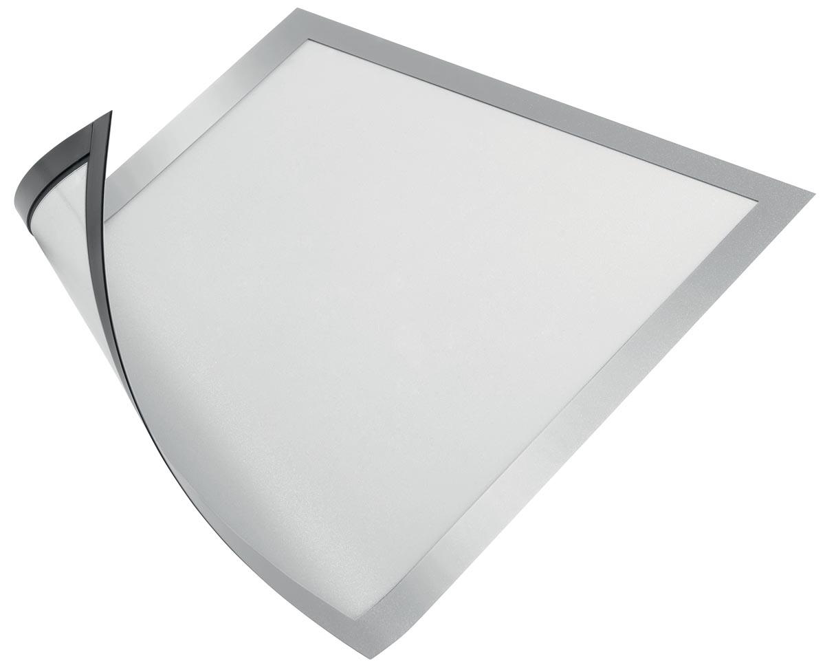 Durable Magnetisch kader, zilver, ft A4, pak van 5 stuks
