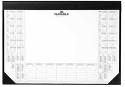 Durable schrijfonderlegger met kalender 2016-2017