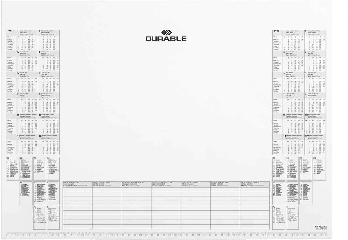 Durable kalenderblok 2021 - 2022