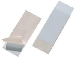 Durable Pocketfix binnenafmetingen 150 x 58 mm, buitenafmetingen 154 x 62 mm