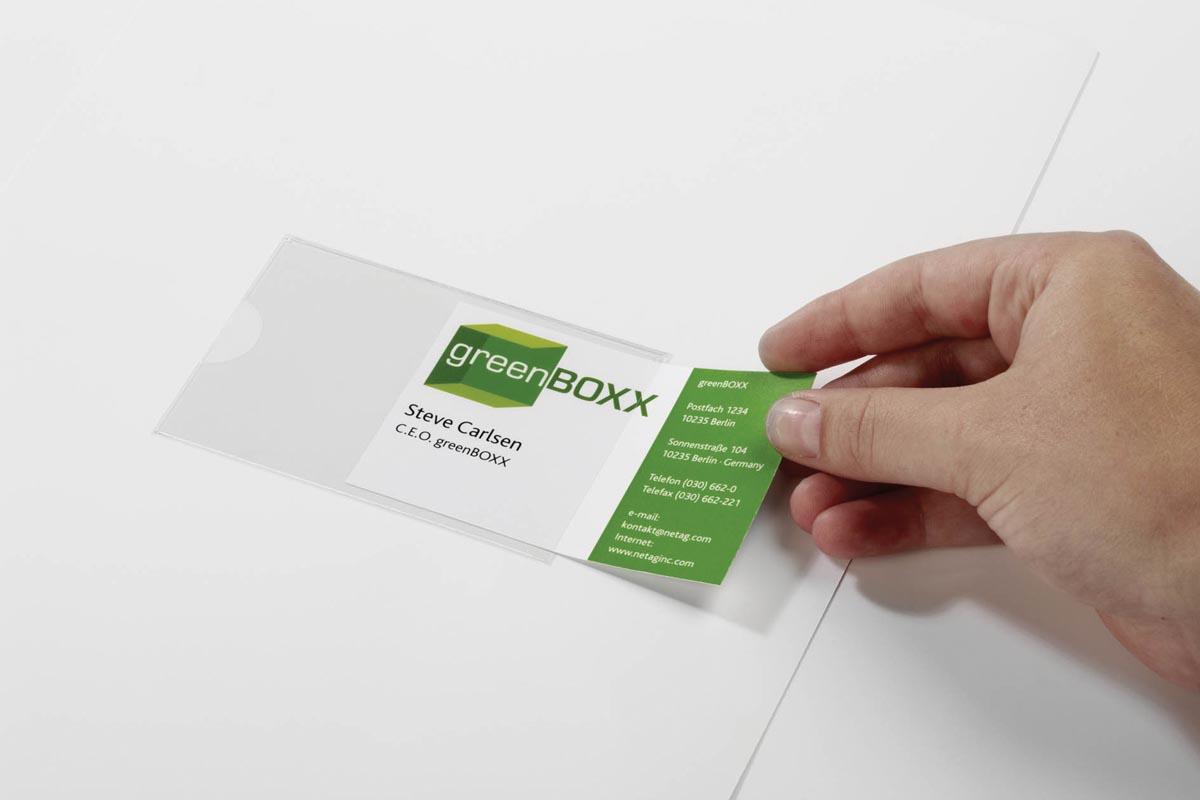 Durable Pocketfix ft 105 x 74 mm, zakje van 10 stuks