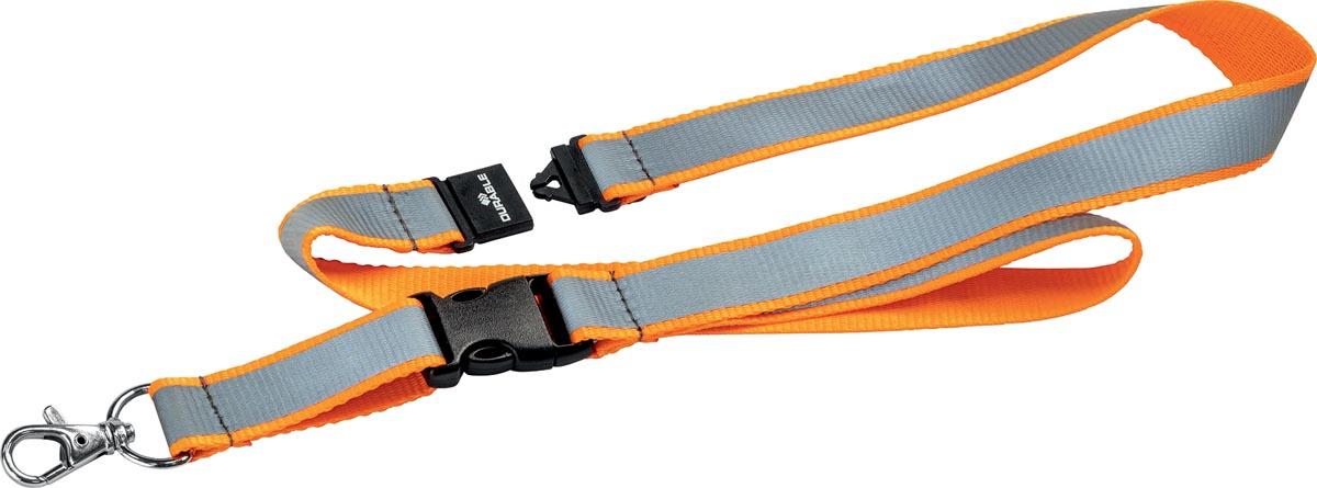 Durable reflecterend textielkoord, oranje