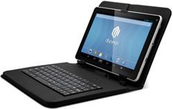 Danew tablet Dslide 904, 9 inch met toetsenbord en hoes, azerty
