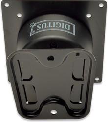 DIGITUS muurbeugel DA-90307 voor schermen tot 27 inch, max 15 kg, vierkantig