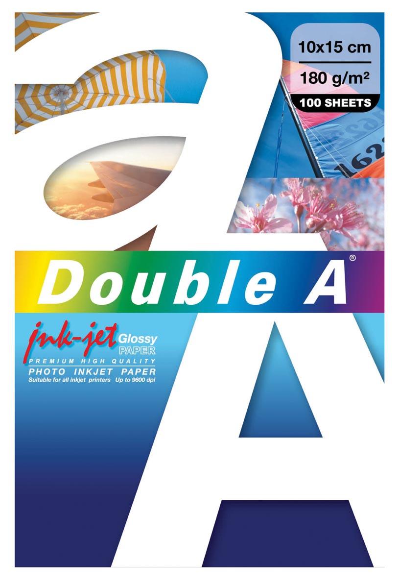 Double a paper Double A fotopapier ft 10 x 15 cm pak van 100 stuks (DA972)