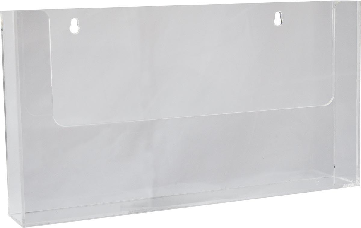 Deflecto Folderhouder, ft A4, horizontaal