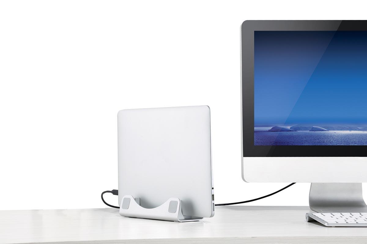 Desq Laptopstand Compact Alu
