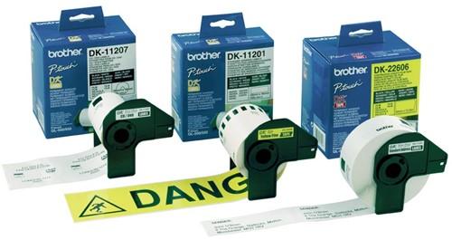 Brother etiketten voor QL, ft 29 x 90 mm, pak van 400 etiketten-2