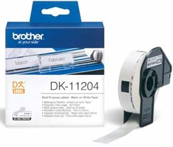 Brother etiketten voor QL, ft 17 x 54 mm, pak van 400 etiketten