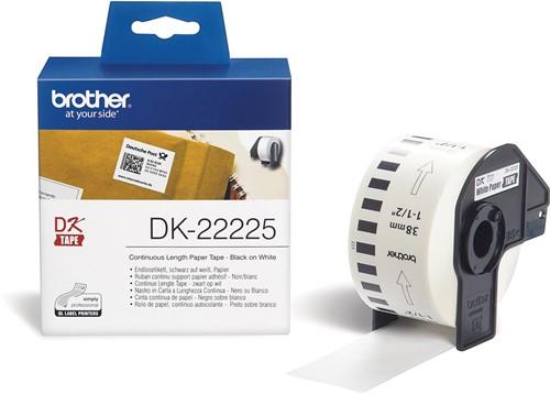 Brother doorlopende labelrol voor QL, ft 38 mm x 30,48 m, papier