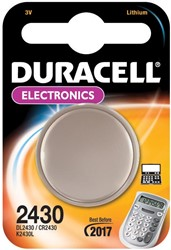 Duracell knoopcel Electronics CR2430, op blister