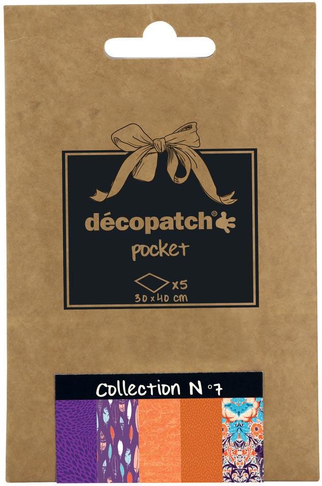 Décopatch papier Pocket, nummer 7