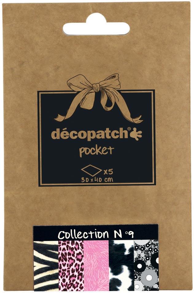 Décopatch papier Pocket, nummer 9