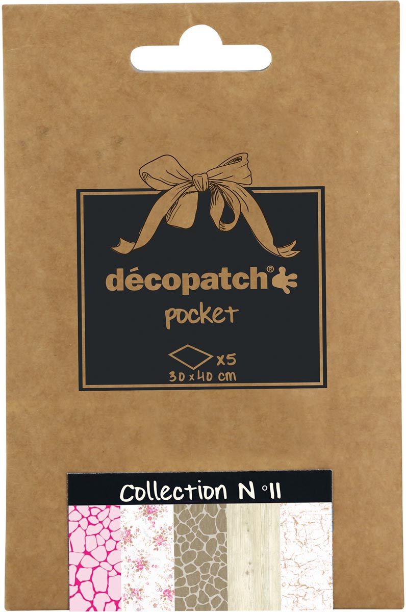 Décopatch papier Pocket, nummer 11