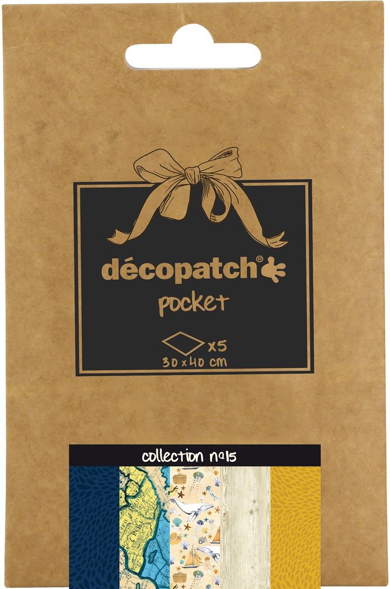 Décopatch papier Pocket, nummer 15