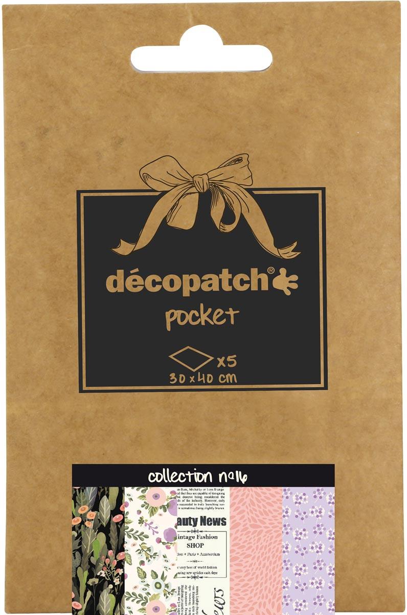 Décopatch papier Pocket, nummer 16
