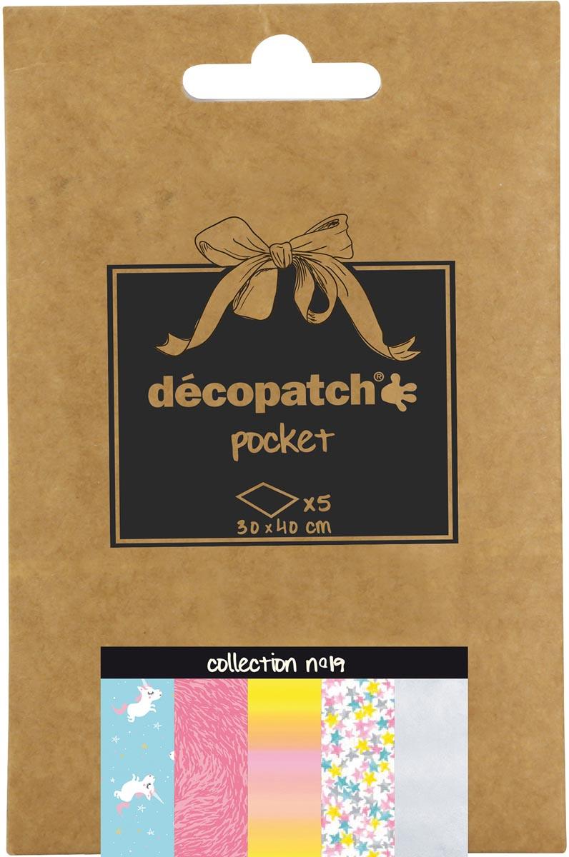 Décopatch papier Pocket, nummer 19