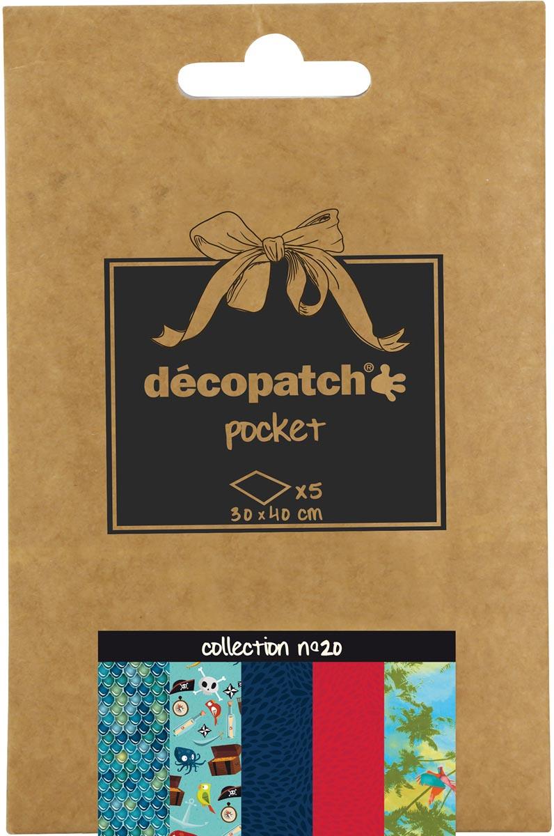 Décopatch papier Pocket, nummer 20