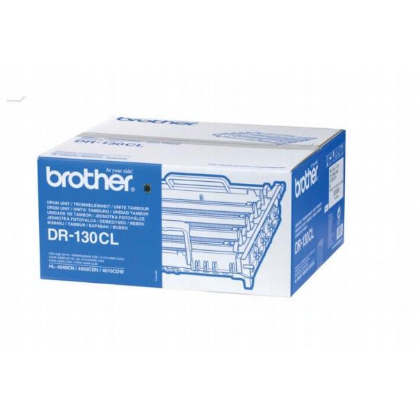 Brother drum, 17.000 pagina's, OEM DR-130CL, zwart