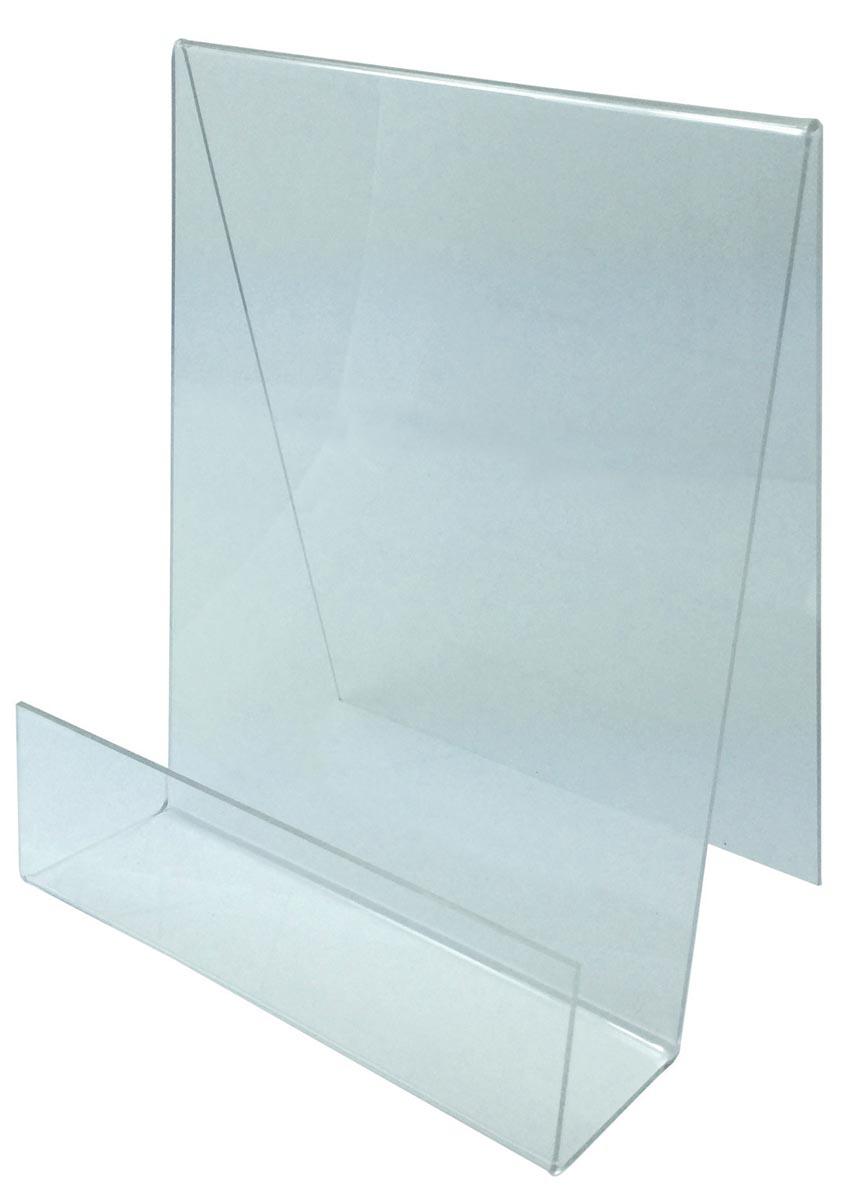 Deflecto boekensteun A5, ft 195 x 150 mm