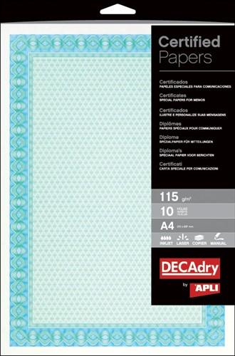 Decadry certificaten ft A4, 115 g, pak van 70 vel