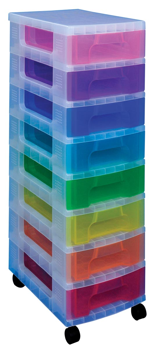 Really Useful Box, ladekast, geassorteerde kleuren
