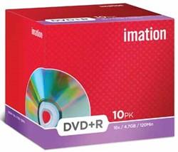 Imation DVD recordable DVD-R, pak van 10 stuks, Jewel Case