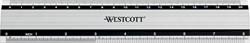 Westcott metalen lat 20 cm