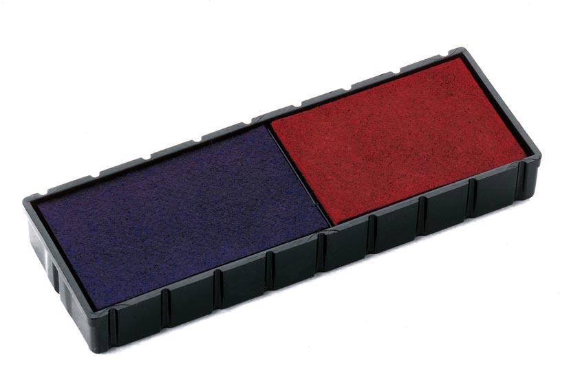 Colop stempelkussen, blauw en rood, voor stempel S120WD