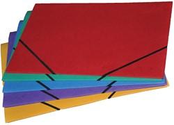 Class'ex elastomap, ft 18 x 24 cm (voor ft A5), geassorteerde kleuren